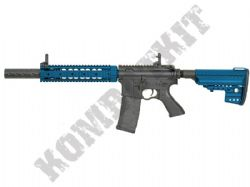 CM070 M4 RIS Suppressed Electric Airsoft Rifle BB Machine Gun Metal Body & Gear Box 2 Ton
